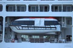 Velsen, Pays-Bas - 17 juillet 2018 : La princesse Pacifique a fonctionné par Australie de princesse Cruises et de croisières de P photos libres de droits