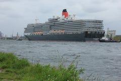 Velsen, Pays-Bas - 7 juin 2017 : La Reine Victoria, Cunard Photographie stock