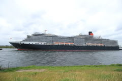 Velsen, Pays-Bas - 7 juin 2017 : La Reine Victoria, Cunard Photos stock