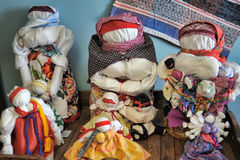 Velskie popular rag dolls handmade Royalty Free Stock Photos