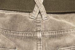 Veludo de algodão da textura Fotos de Stock