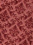 Veludo vermelho clássico. Fotografia de Stock