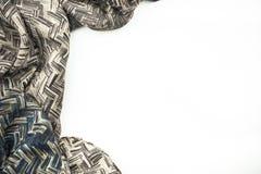 Velv de seda abstrato de pano do fundo ou de cetim da textura da onda líquida Imagens de Stock