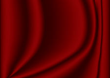 Velvet. Material background in maroon with creases and ripples Royalty Free Stock Photography