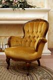 Velvet armchair Stock Photography