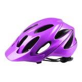 Velvet bike helmet Stock Images