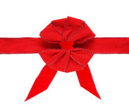 Velvet Bow and Ribbon Stock Photos