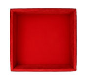Velvet box Royalty Free Stock Image