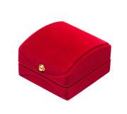 Velvet box Royalty Free Stock Photos