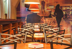 Velvet Cafe Royalty Free Stock Image