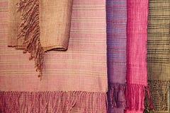 Velvet. Cotton fabric Stock Photos