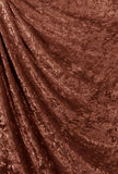 Velvet curtain. Royalty Free Stock Image