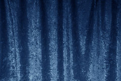 Velvet curtain. Stock Photography