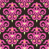 Velvet Damask Seamless Vector pattern Royalty Free Stock Image