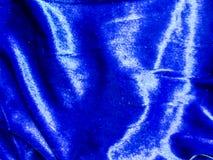 Velvet dark blue to decor and interior Stock Photography