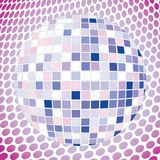 Velvet discoball Stock Photography