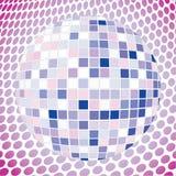 Velvet discoball stock photography