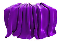 Velvet drape stock photography