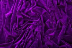 Velvet fabric Stock Photography
