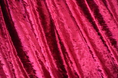 Velvet fabric Royalty Free Stock Images