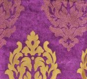 Velvet fabric wallpaper Stock Photography