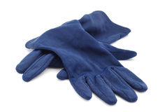 Velvet gloves Royalty Free Stock Image