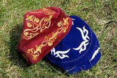Velvet Hats Stock Images