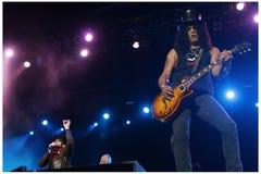 Velvet revolver concert Royalty Free Stock Images