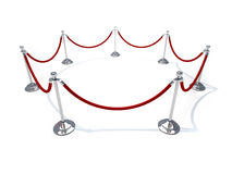Velvet rope Royalty Free Stock Image