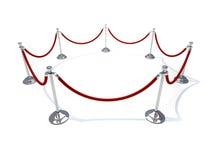Velvet rope Royalty Free Stock Image