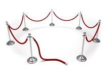 Velvet rope Royalty Free Stock Photos