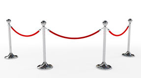 Velvet rope Royalty Free Stock Photography