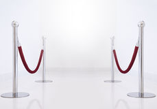 Velvet Rope Stock Photo