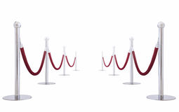 Velvet Rope Stock Photography