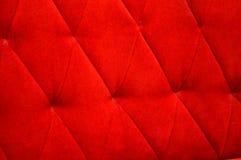 Velvet seat upholstery Stock Images