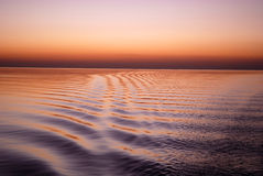 Velvety ocean Stock Images