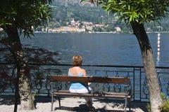 Vem o lago Imagens de Stock Royalty Free