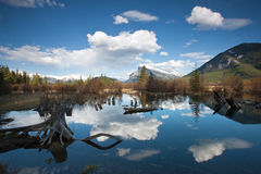 Vemillion Lakes Stock Image