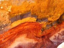 Vena mineral Foto de archivo libre de regalías
