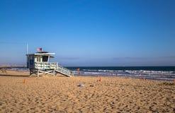 Venais海滩 太平洋海岸在洛杉矶 免版税库存照片