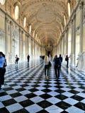 Venaria宫殿在都灵市,山麓地区,意大利 艺术、历史和旅游业 库存照片