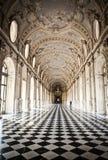 venaria дворца Италии galleria di diana королевское Стоковое фото RF