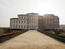 Reggia di Venaria in Venaria. VENARIA, ITALY - CIRCA OCTOBER 2017: Reggia di Venaria baroque royal palace Stock Photography