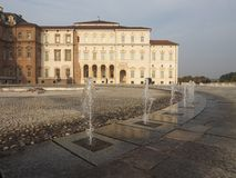 Reggia di Venaria in Venaria. VENARIA, ITALY - CIRCA OCTOBER 2017: Reggia di Venaria baroque royal palace Stock Photos