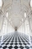 Venaria, Italy - June 27, 2014: Reggia of Venaria Reale. stock photography
