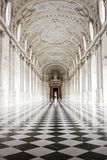 Venaria Reale palace, Turin, Italy stock images