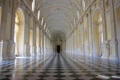 Venaria Reale - résidence royale - salle de bal Photographie stock libre de droits
