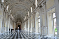 Venaria. turin, italy Savoy residences Royalty Free Stock Images
