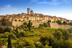Vence, Provence, Francja fotografia stock