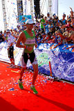 Vencedor 2009 de Ironman Foto de Stock Royalty Free